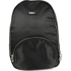 Torebki i plecaki damskie: Plecak w kolorze czarnym – 25 x 34 x 8 cm
