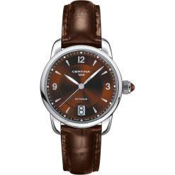 RABAT ZEGAREK CERTINA LADY QUARTZ. Brązowe zegarki damskie CERTINA, ze stali. W wyprzedaży za 1350,80 zł.