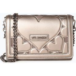 Love Moschino - Damska torebka na ramię, szary. Szare torebki klasyczne damskie marki Love Moschino. Za 699,95 zł.