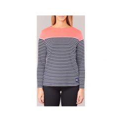 T-shirty z długim rękawem Superdry  COLOUR BLOCK BRETTON. Niebieskie t-shirty damskie Superdry, s. Za 135,20 zł.