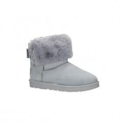 Śniegowce Casu  Szare śniegowce emu z futerkiem  B814-5. Szare buty zimowe damskie Casu. Za 68,99 zł.