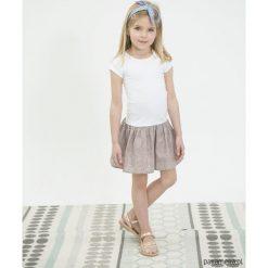 SUMMER Sukienka z rękawem. Białe sukienki dziewczęce letnie Pakamera, z bawełny. Za 149,00 zł.