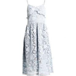 Sukienki hiszpanki: True Decadence Sukienka letnia smoke blue