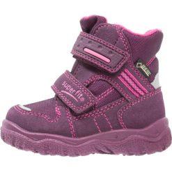 Superfit HUSKY1 Śniegowce eggplant. Fioletowe buty zimowe damskie marki Superfit, z materiału. W wyprzedaży za 164,45 zł.
