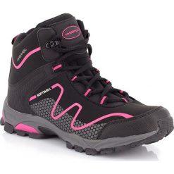 """Buty trekkingowe damskie: Buty trekkingowe """"Pelat"""" w kolorze antracytowo-różowym"""