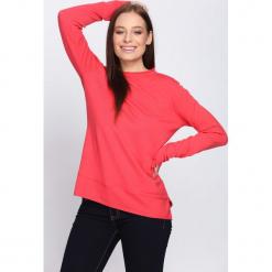 Koralowy Sweter Misconceiving. Pomarańczowe swetry klasyczne damskie marki Born2be, na jesień, l. Za 44,99 zł.