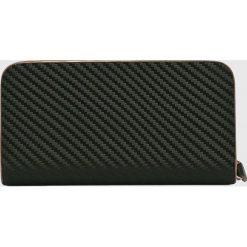 VIP COLLECTION - Portfel skórzany Toskania. Czarne portfele męskie marki VIP COLLECTION, z materiału. W wyprzedaży za 99,90 zł.