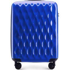 Walizka kabinowa 56-3H-551-90. Niebieskie walizki Wittchen, z gumy, małe. Za 179,00 zł.