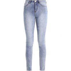 Glamorous Tall Jeans Skinny Fit light blue. Niebieskie jeansy damskie Glamorous Tall, z bawełny. Za 159,00 zł.
