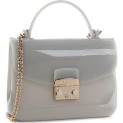 Torebka FURLA - Candy 992812 B BOC3 PL0 Color Cristallo d. Szare torebki klasyczne damskie Furla, z tworzywa sztucznego. Za 690,00 zł.