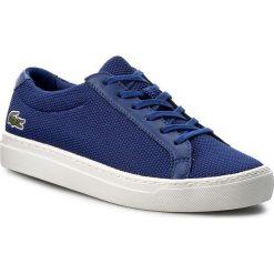 Trampki chłopięce: Sneakersy LACOSTE - L.12.12 217 1 CAJ 7-33CAJ1014125 Blu
