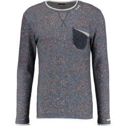 Swetry klasyczne męskie: Key Largo KAI Sweter marine
