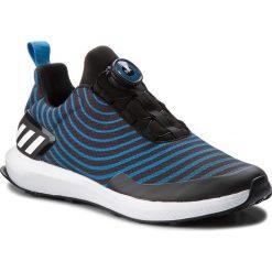 Buty adidas - RapidaRun Uncaged Boa K AH2614 Cblack/Ftwwht/Brblue. Czarne buty do biegania damskie Adidas, z materiału. W wyprzedaży za 209,00 zł.