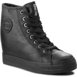 Sneakersy BIG STAR - BB274300 Black. Czarne sneakersy damskie BIG STAR, z gumy. Za 129,00 zł.