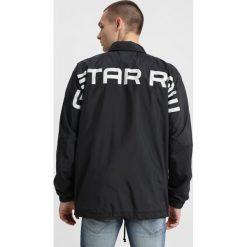 GStar KORPAZ COACH  Kurtka wiosenna black. Czarne kurtki męskie marki G-Star, m, z materiału. Za 559,00 zł.