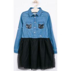 Sukienki dziewczęce z falbanami: Guess Jeans – Sukienka dziecięca 118-175 cm