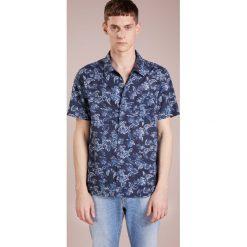 Koszule męskie na spinki: CLOSED Koszula floral blau