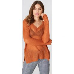 Swetry damskie: Moves Sweter Nilly – Orange,Copper
