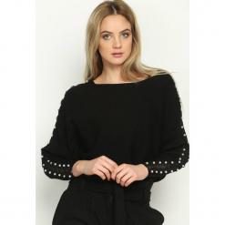 Czarny Sweter Tudor Epoch. Czarne swetry klasyczne damskie Born2be, l. Za 69,99 zł.