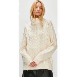 Medicine - Sweter Hand Made. Szare swetry klasyczne damskie MEDICINE, m, z dzianiny. Za 159,90 zł.