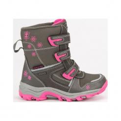 Buty dziecięce śniegowce szare r. 34. Szare buciki niemowlęce American CLUB, na zimę. Za 161,92 zł.
