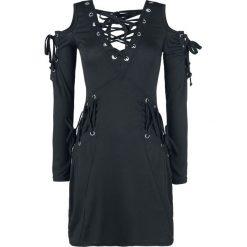 Innocent Crave Top Sukienka czarny. Niebieskie sukienki balowe marki Innocent, xl, w ażurowe wzory, z materiału, z dekoltem na plecach. Za 144,90 zł.