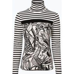 T-shirty damskie: Marc Cain Collections - Damska koszulka z długim rękawem, czarny