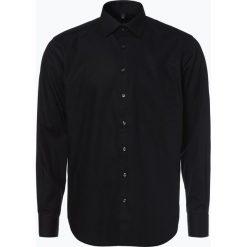 Koszule męskie na spinki: Andrew James – Koszula męska łatwa w prasowaniu, czarny