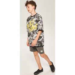 T-shirty chłopięce z nadrukiem: T-shirt z nadrukiem – Czarny