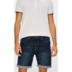 Selected - Szorty. Szare spodenki jeansowe męskie Selected, casualowe. W wyprzedaży za 129,90 zł.