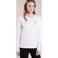 Bluzki asymetryczne: Polo Ralph Lauren TEE LONG SLEEVE Bluzka z długim rękawem white