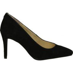 Buty ślubne damskie: Czółenka - 53318-G BLAC