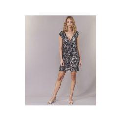 Sukienki krótkie Desigual  OURKOL. Szare sukienki mini marki Desigual, l, z krótkim rękawem. Za 244,30 zł.