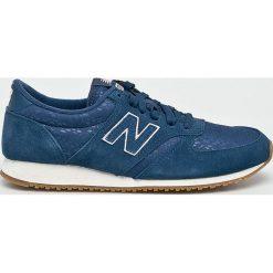 New Balance - Buty WL420NPN. Szare buty sportowe damskie marki New Balance, z gumy. W wyprzedaży za 299,90 zł.
