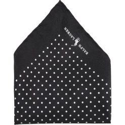 Krawaty męskie: Polo Ralph Lauren ST. JAMES SPOT HAND HEM Poszetka black
