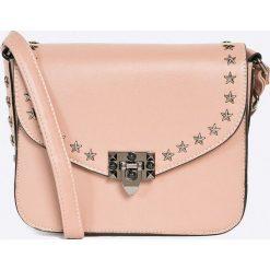 Answear - Torebka. Różowe torebki klasyczne damskie ANSWEAR, z materiału, małe. W wyprzedaży za 69,90 zł.
