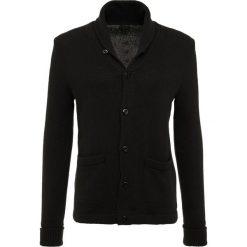 Swetry rozpinane męskie: J.CREW RUSTIC VARSITY  Kardigan black