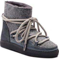 Buty INUIKII - Sneaker 70202-24 Burret Grey. Szare buty zimowe damskie Inuikii, z materiału. Za 1129,00 zł.