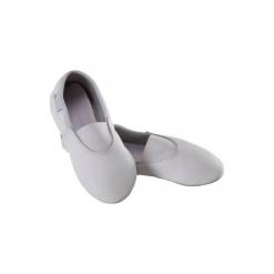 Buty do gimnastyki GYM 520. Białe buty skate męskie DOMYOS, z poliesteru, na jogę i pilates. W wyprzedaży za 29,99 zł.