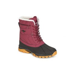 Śniegowce Kangaroos  DARWIN. Czarne buty zimowe damskie KangaROOS. Za 239,00 zł.
