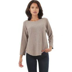 Sweter w kolorze szarobrązowym. Brązowe swetry klasyczne damskie marki L'étoile du cachemire, z kaszmiru. W wyprzedaży za 129,95 zł.