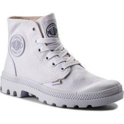 Trapery PALLADIUM - Blanc Hi 72886-154-M White/White. Białe buty zimowe damskie marki Palladium, z gumy. Za 299,00 zł.
