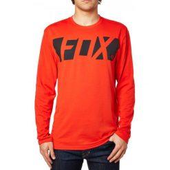 FOX T-Shirt Męski Cease Ls Tech Tee M Czerwony. Szare t-shirty męskie marki FOX, z bawełny. W wyprzedaży za 106,00 zł.
