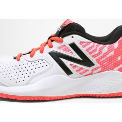 Buty sportowe damskie: New Balance 696 V3 Obuwie do tenisa Outdoor white/vivid coral