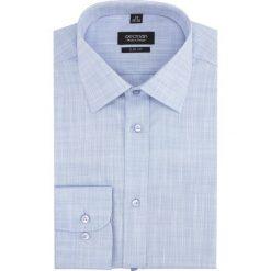 Koszula versone 2765 długi rękaw slim fit niebieski. Niebieskie koszule męskie slim Recman, m, z długim rękawem. Za 139,00 zł.