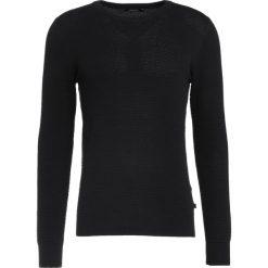 Swetry klasyczne męskie: J.LINDEBERG DEXTER Sweter black