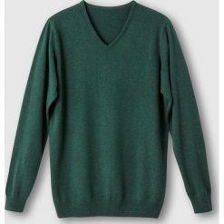 Kardigany męskie: Sweter z dekoltem w serek z cienkiej dzianiny