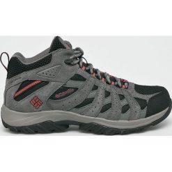 Columbia - Buty Canyon Point Mid. Szare buty trekkingowe męskie Columbia, z materiału, na sznurówki, outdoorowe. Za 399,90 zł.