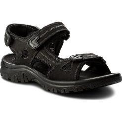 Sandały męskie skórzane: Sandały MARCO TOZZI – 2-18400-20 Black Comb 098