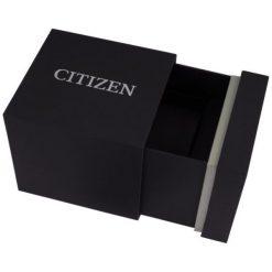 ZEGAREK CITIZEN Leather AW1231-07E. Czarne, analogowe zegarki męskie CITIZEN, sztuczne. Za 470,00 zł.